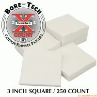 "Bore Tech X-Count™ Patch 3"" quadratisch - .50"