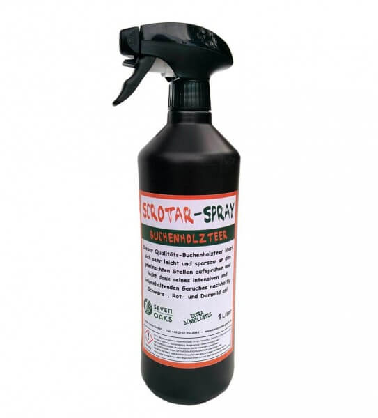 Buchenholzteer Spray Scrotar 1 Liter