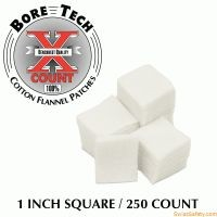 "Bore Tech X-Count™ Patch 1"""" quadratisch - .20 Cal, .22 RF"