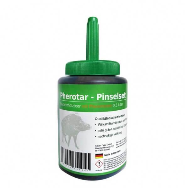 Pherotar Pinselset Buchenholzteer
