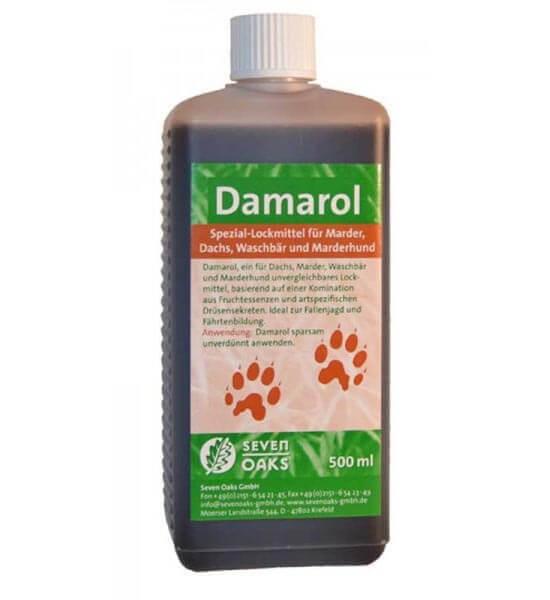 Damarol Lockmittel für Marder Dachs Waschär