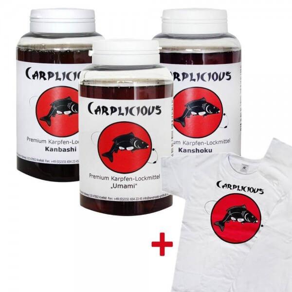 Carplicious 3er Spar-Set inkl. T-Shirt