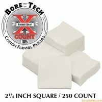 "Bore Tech X-Count™ Patch 2 1/4"" quadratisch - .45"